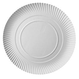 "Cardboard Plates ""Pure"" Round Ø 340 x 30mm White"