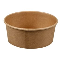 Salad bowl Kraft 750ml 25oz Brown Ø 150 x 60mm