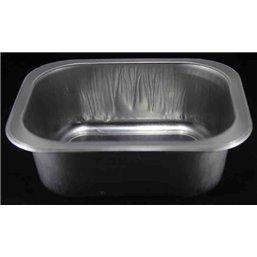 Aluminum trays Ready4use 150x125x50mm
