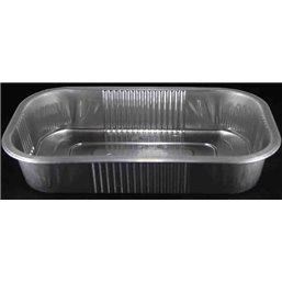 Aluminum trays Ready4use 234x138x43mm