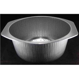 Aluminum Trays Bucket Ready4use Ø196x85 Round