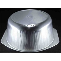 Aluminium Bakken Bucket Ready4use Ø196x85 Rond