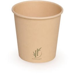Coffee Cup Bamboo Paper FSC 100cc 4oz (Small package)