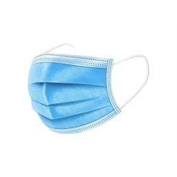 Mondmaskers Papier Blauw Voor Dagelijks Gebruik