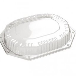 Catering Lid - hood 335x250x44mm for platter Black CS 335-250 (click platter) (Small package)