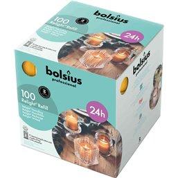 Bolsius Professional ReLight navullingen Amber -24 Branduren-  64/52