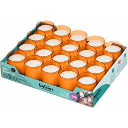 Bolsius Professional ReLight navullingen Oranje -24 Branduren-  64/52