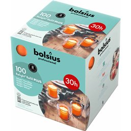 Bolsius Professional ReLight navullingen Oranje -30 Branduren-  64/52