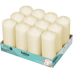 Bolsius Professional Pillar candles Ivory -62 Burning hours-  17/7