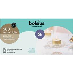 Bolsius Professional Waxine® lichten Wit -6 Branduren-  16/38