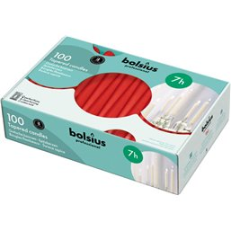 Bolsius Professional Gothic candle Red -7 Burning hours-  240/23
