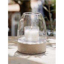 Bolsius Professional ReLight holder Outdoor Transparent 126/100