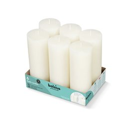 Bolsius Professional Block candle rustic Soft Paarl -65 Burning hours-  190/68