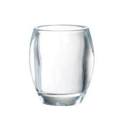 Bolsius Professional Tealightholder Oval Transparent 77/72