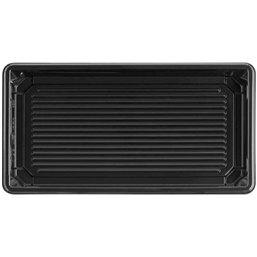 Sushi Tray Black RPET 171 x 91 x 17mm