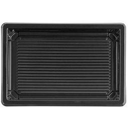 Sushi Tray Black RPET 166 x 115 x 17mm