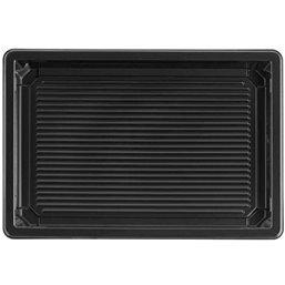 Sushi Tray Black RPET 185 x 129 x 20mm
