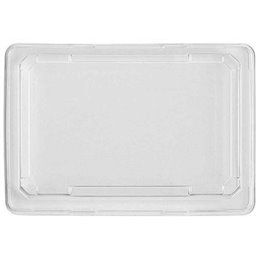 Lid Sushi Tray RPET 185 x 129mm
