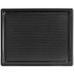 Sushi Tray Black RPET 255 x 185 x 20mm