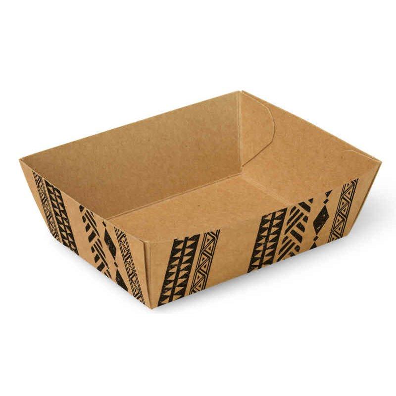 "Snackbakjes A7 Karton ""Maori"" 90 x 70 x 35mm"