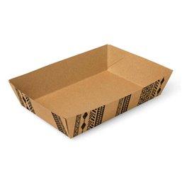 "Snackbakjes A50 Karton ""Maori"" 160 x 110 x 40mm"