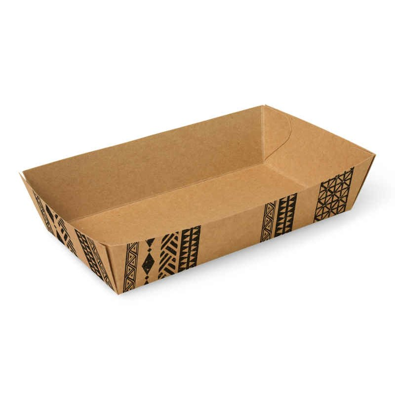 "Snackbakjes A13 Karton ""Maori"" 150 x 70 x 35mm"