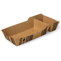 """Snackbakjes A9 + (A22) Karton """"Maori"""" 120 x 70 x 35mm"""