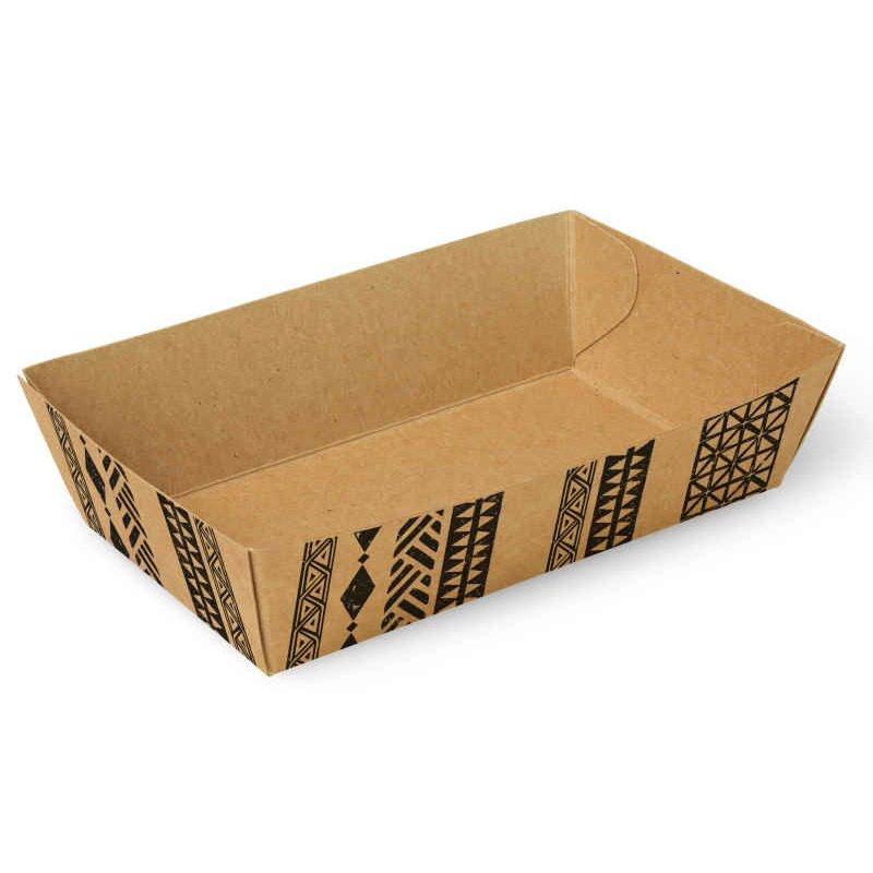 "Snackbakjes A9 Karton ""Maori"" 120 x 70 x 35mm"