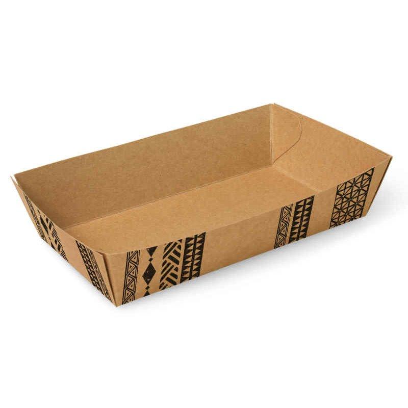 "Snackbakjes A14 Karton ""Maori"" 120 x 70 x 35mm"