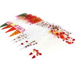 Puntzakken 180 x 370 mm Plastic 250 Gram Geel Rood