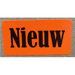 Etiket Rechthoek 40 x 20mm NIEUW (KM)