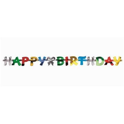 """Letter Slinger """"Happy Birthday"""" 1,4 meter -horecavoordeel.com-"""