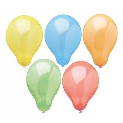 """Ballonnen """"Rainbow"""" Kleuren Assortiment Ø 190mm -horecavoordeel.com-"""