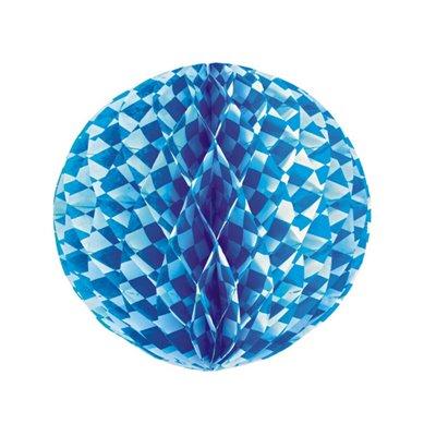 """Decoratie Bal """"Beiers Blauw"""" Brandvertagend Ø 300mm -horecavoordeel.com-"""