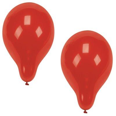 Ballonnen Rood (Geschikt voor Helium) Ø 250mm -horecavoordeel.com-