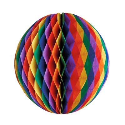 """Decoratie Bal """"Rainbow"""" Brandvertagend Ø 600mm -horecavoordeel.com-"""