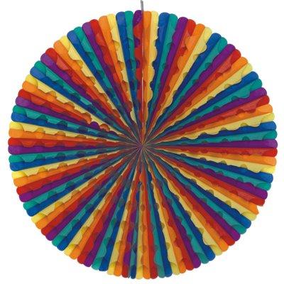 """Decoratiewaaier """"Rainbow"""" Ø 700mm -horecavoordeel.com-"""