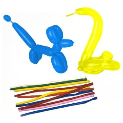 """Modelleer Ballonnen """"Maxi"""" Kleuren Assortiment 1400mm -horecavoordeel.com-"""