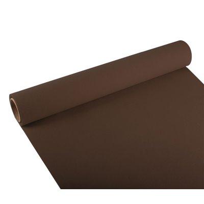 "Tafelloper Bruin ""ROYAL Collection"" 3m x 400mm -horecavoordeel.com-"