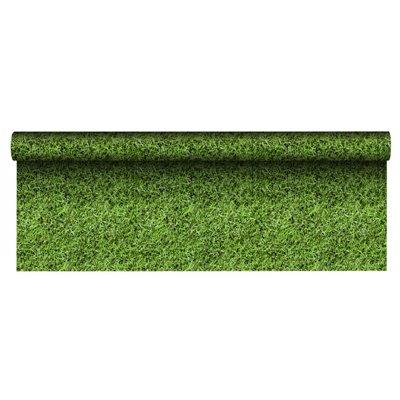 """Tafelkleed Papier """"Football"""" Met Beschermingslaag 5 x 1,2 meter -horecavoordeel.com-"""