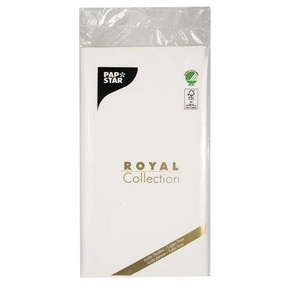 "Tafelkleed Wit Tissue ""ROYAL Collection"" 1200 x 1800mm -horecavoordeel.com-"