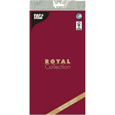 "Tafelkleed Bordeaux Tissue ""ROYAL Collection"" 1200 x 1800mm -horecavoordeel.com-"