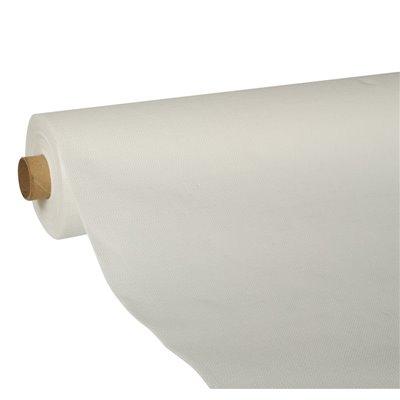"""Tafelkleed Wit Tissue """"ROYAL Collection"""" 25 x 1,18 meter -horecavoordeel.com-"""