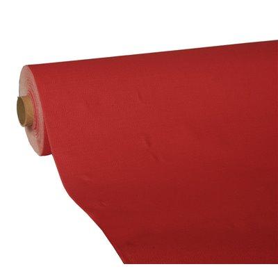 "Tafelkleed Rood Tissue ""ROYAL Collection"" 25 x 1,18 meter -horecavoordeel.com-"