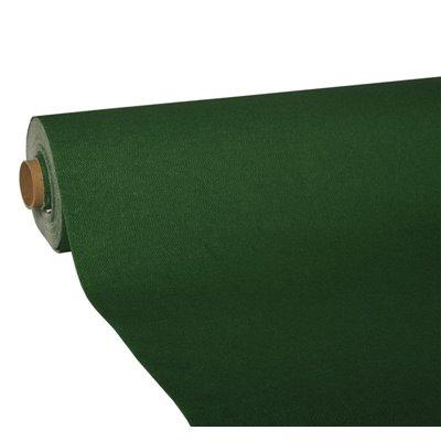 """Tafelkleed Donkergroen Tissue """"ROYAL Collection"""" 25 x 1,18 meter -horecavoordeel.com-"""