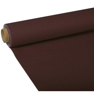 """Tafelkleed Bruin Tissue """"ROYAL Collection"""" 5 x 1,18 meter -horecavoordeel.com-"""