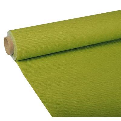 """Tafelkleed Olijfgroen Tissue """"ROYAL Collection"""" 5 x 1,18 meter -horecavoordeel.com-"""
