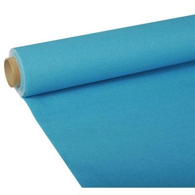 "Tafelkleed Turkoois Tissue ""ROYAL Collection"" 5 x 1,18 meter -horecavoordeel.com-"