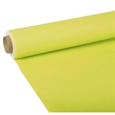 """Tafelkleed Limoengroen Tissue """"ROYAL Collection"""" 5 x 1,18 meter -horecavoordeel.com-"""