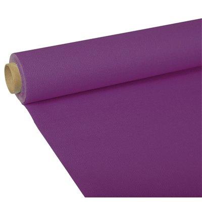 "Tafelkleed Paars Tissue ""ROYAL Collection"" 5 x 1,18 meter -horecavoordeel.com-"